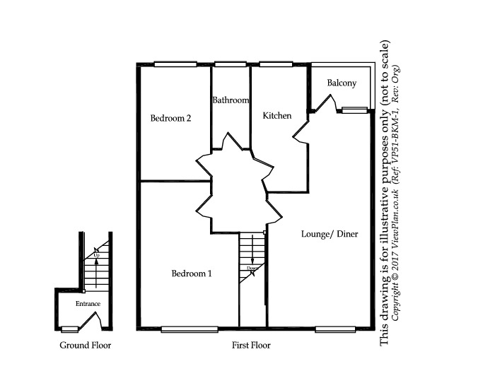 Floorplan of Beechwood Drive, Penarth, Penarth, CF64 3RB