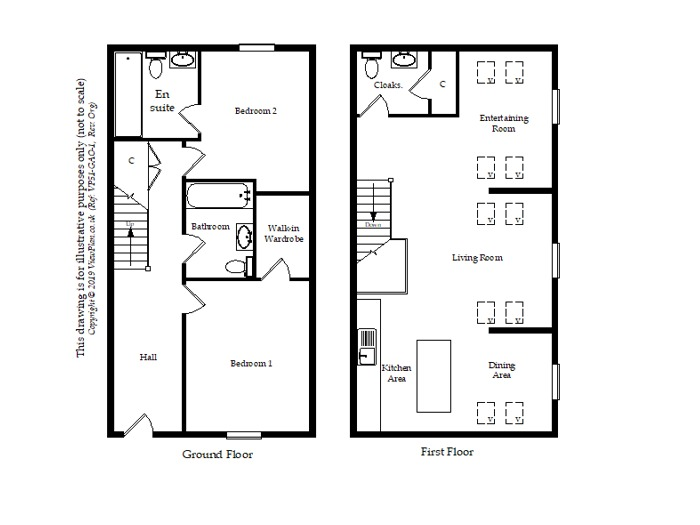 Floorplan of Alcedonia, Albert Crescent, Penarth, CF64 1BY