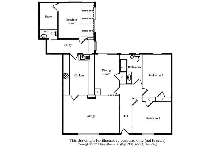 Floorplan of Tordoff Way, Barry, CF62 8ET